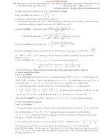 Đề thi thử toán lần 3 năm 2014 trường Quỳnh Lưu Nghệ An