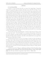 Tiểu luận Nâng cao chất lượng sinh hoạt chi bộ văn phòng đảng ủy phường Mỹ Hòa, thành phố Long Xuyên giai đoạn hiện nay . Thực trạng và giải pháp