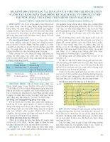 TIM MẠCHSO SÁNH ĐỘ CHÍNH XÁC VÀ TIN CẬY CỦA VIỆC ĐO CHỈ SỐ CỔ CHÂN -CÁNH TAY BẰNG MÁY DAO ĐỘNG KÝ MẠCH MÁU VP-1000 PLUS VỚI PHƯƠNG PHÁP THỦ CÔNG TRÊN BỆNH NHÂN MẠCH MÁU