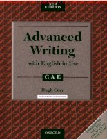 Advanced writing with English in Use [CAE]