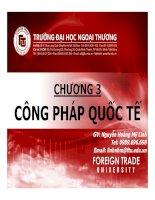 Bài giảng Pháp luật đại cương: Chương 3 - GV. Nguyễn Hoàng Mỹ Linh