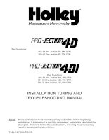 installation tuning and troubleshooting manual