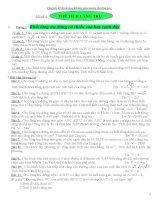 Chuyên đề hình học không gian ôn thi ĐH