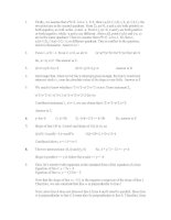 gmat quant topic 6 co-ordinate geometry solutions