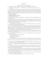 Tai lieu on thi Công chức về Quản lý Nhà nước theo chuyên đề. P2
