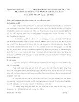 84 CÂU HỎI VÀ ĐÁP ÁN NHỮNG NGUYÊN LÝ CƠ BẢN CỦA NGỦ NGHĨA MÁC-LÊNIN