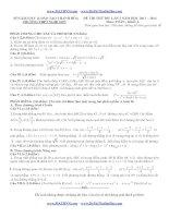 đề thi thử môn toán 2014 lần 2 thpt nghi sơn thanh hóa