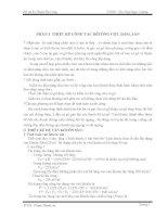 ĐỒ ÁN KỸ THUẬT CÔNG 1 PHẦN 3  THIẾT KẾ CÔNG TÁC BÊTÔNG CỘT, DẦM, SÀN