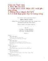 Giáo án ngữ văn 10 đầy đủ