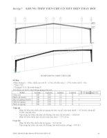 Bài tập Etabs - thiết kế khung thép tiền chế cột vát