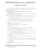 BÁO CÁO THỰC TẬP CÔNG NHÂN XÂY DỰNG - ĐH KIẾN TRÚC TP.HCM