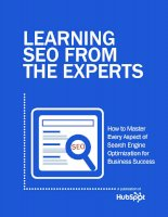 Learning SEO from the experts