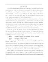 Báo cáo kiến tập tổng hợp tại công ty cổ phần thủy sản Bình Định
