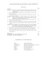 luận văn thạc sĩ Áp dụng pháp luật trong giải quyết án hôn nhân và gia đình của Tòa án nhân dân ở tỉnh Thái Nguyên