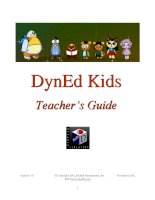 DynEd kids teacher guide
