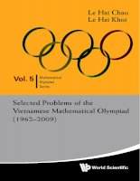 Tổng hợp các đề thi Toán Olympia Việt Nam từ năm 1962 đến 2009