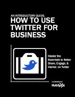 an introguide how to use twitter for business