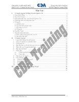 Buoi 3 4  Vẽ mạch in với phần mềm Orcad CDA Training