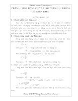 thuyết minh đồ án môn học chi tiết máy  - nguyên lý máy