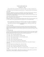TCVN 9115 : 2012KẾT CẤU BÊ TÔNG VÀ BÊ TÔNG CỐT THÉP LẮP GHÉP -THI CÔNG VÀ NGHIỆM THU