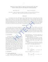 Khảo sát ảnh hưởng của biểu giá TOU lên tiêu thụ điện quách minh thử, phan thị thanh bình(GVHD), hutech, 2012