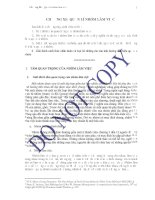 Giáo trình Quản trị học  -  Chương XI Quản lý nhóm làm việc