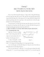 Tài liệu Môn tấm và vỏ  - Chương 7 Hiệu ứng biên của vỏ trụ tròn trong trạng thái màng