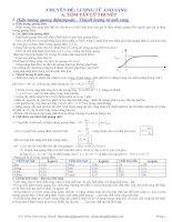 Trắc nghiệm lượng tử ánh sáng (có đáp án)