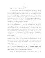 Hoàn thiện nội dung phân tích tài chính trong các công ty cổ phần thuộc Tổng công ty công nghiệp xi măng Việt Nam