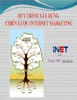 quy trình xây dựng chiến lược internet marketing