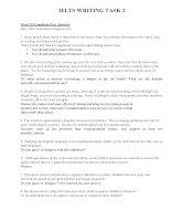 IELTS writing task 2 essay 100 plus essay