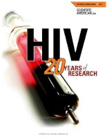 scientific american  special online issue  -  2003 no 07  -  hiv  -  20 years of research