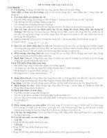 Đề cương môn Vật Lý 11