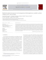 Biodiesel production process by homogeneousheterogeneous catalytic system using an acid base catalyst