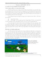 giáo trình kỹ thuật xử lý nước thải chương 1 giới thiệu chung
