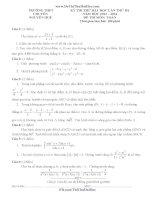 đề và đáp án môn toán chuyên nguyễn huệ hà nội lần 3 2014