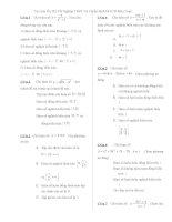tài liệu ôn thi tốt nghiệp thpt và tuyển sinh đh-cđ môn toán