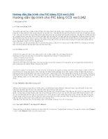 Hướng dẫn lập trình cho PIC bằng CCS ver3