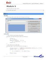 Hướng dẫn thực hành - Lập trình Windows 1 - Module 5