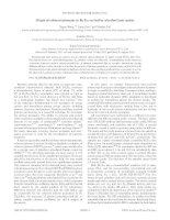origin of coherent phonons in bi2te3 excited by ultrafast laser pulses