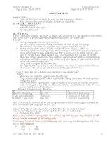 GIÁO án bồi DƯỠNG học SINH GIỎI SINH 9 ( PHẦN 1)