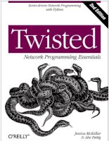 twisted network programming essentials 2nd ed. - j. mckellar, a. fettig