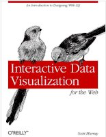 interactive data visualization for the web - s. murray (o'reilly, 2013) [ecv] ww