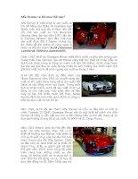 Lịch sử các đời ô tô