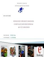 Đánh giá Chất lượng dịch vụ khách hàng cá nhân tại các ngân hàng thương mại