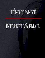 tổng quan về internet và email
