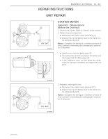 daewoo matiz 2000-2013 engine electrical 19-42 - hệ thống điện động cơ trang 19-42 trên xe matiz đời 2000-2013