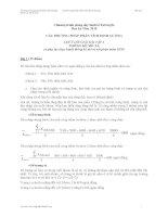CÁC PHƯƠNG PHÁP PHÂN TÍCH ĐỊNH LƯỢNG(giải bài tập)