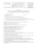 Đề cương chi tiết bài giảng TTHCM 7 2014