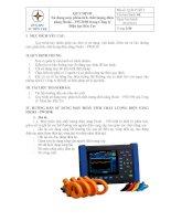 hướng dẫn sử dụng máy đo chất lượng điện năng